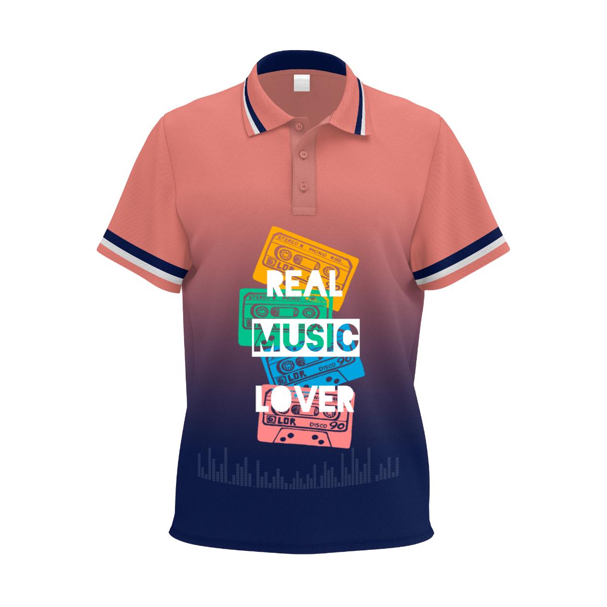 Real Music Lover Tshirt