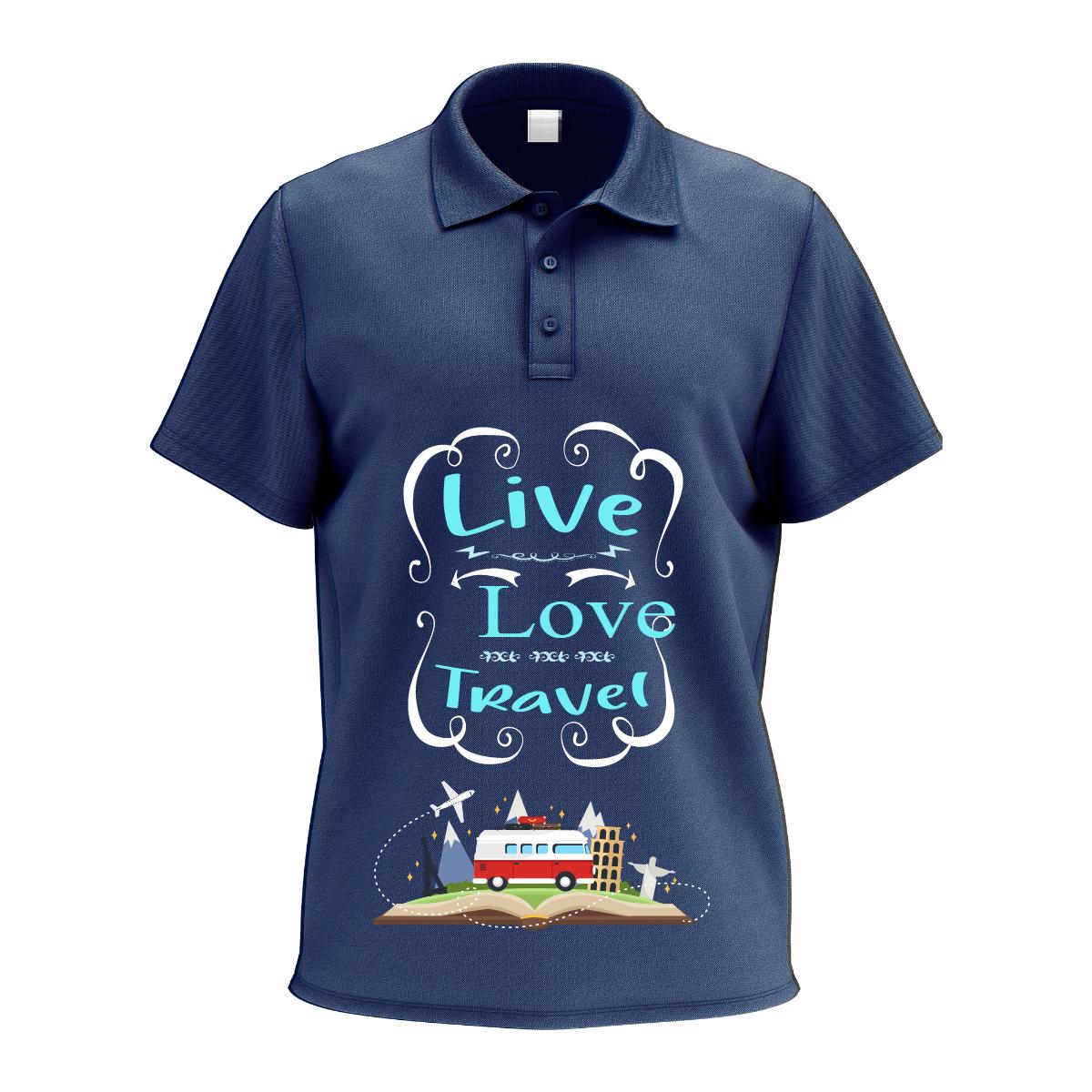 Live.Love.Travel Tshirt